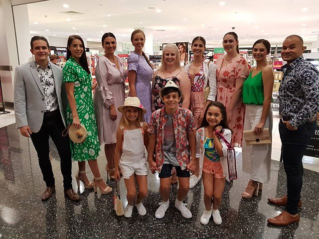 @stocklandtownsville spring/summer fashion parades today!  Hosted by the lovely Gabi from @hittownsville  @myer @countryroad  #siamodelmanagement #stocklandtownsville #townsvilleshines #townsvillelocalbusiness #Townsvillemodelagency