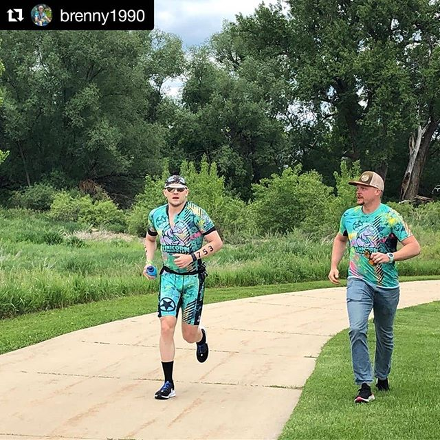 So happy for this dude @brenny1990, the racing heart and soul of our team thus far in 2019. Spectacular result and an even better motivator for the rest of us to keep pushing towards our goals 🦄 style. #top4 #top15 #noquit #motivation #team #inspired #sub10 #imboulder #imboulder2019 #goals ・・・ Ironman Boulder is complete. Solid day across all three legs. Okay swim (58:35) my goggles started giving me a headache, so I took them off for the last 1k and just swam with out them. Fastest bike I have ever done for an Ironman (5:02:40), and a run that was purely survival for the last 12 miles (3:29:14). Final time of 9:37:25 .  4th in my AG and 15th amateur overall. . . . #running #triathlon #swimbikerun #bikeride #fitness  #painface #epixgear #ironmantraining #ironmantriathlon #teamunicornsparkleadventure #tailwindnutrition