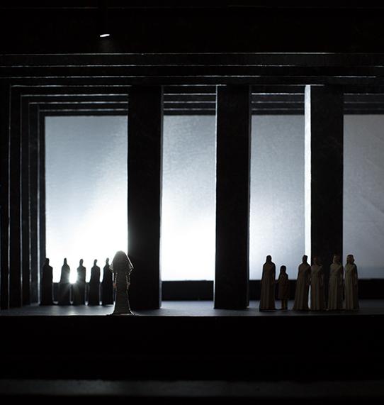 Ermione Stage Model Vienna 2014