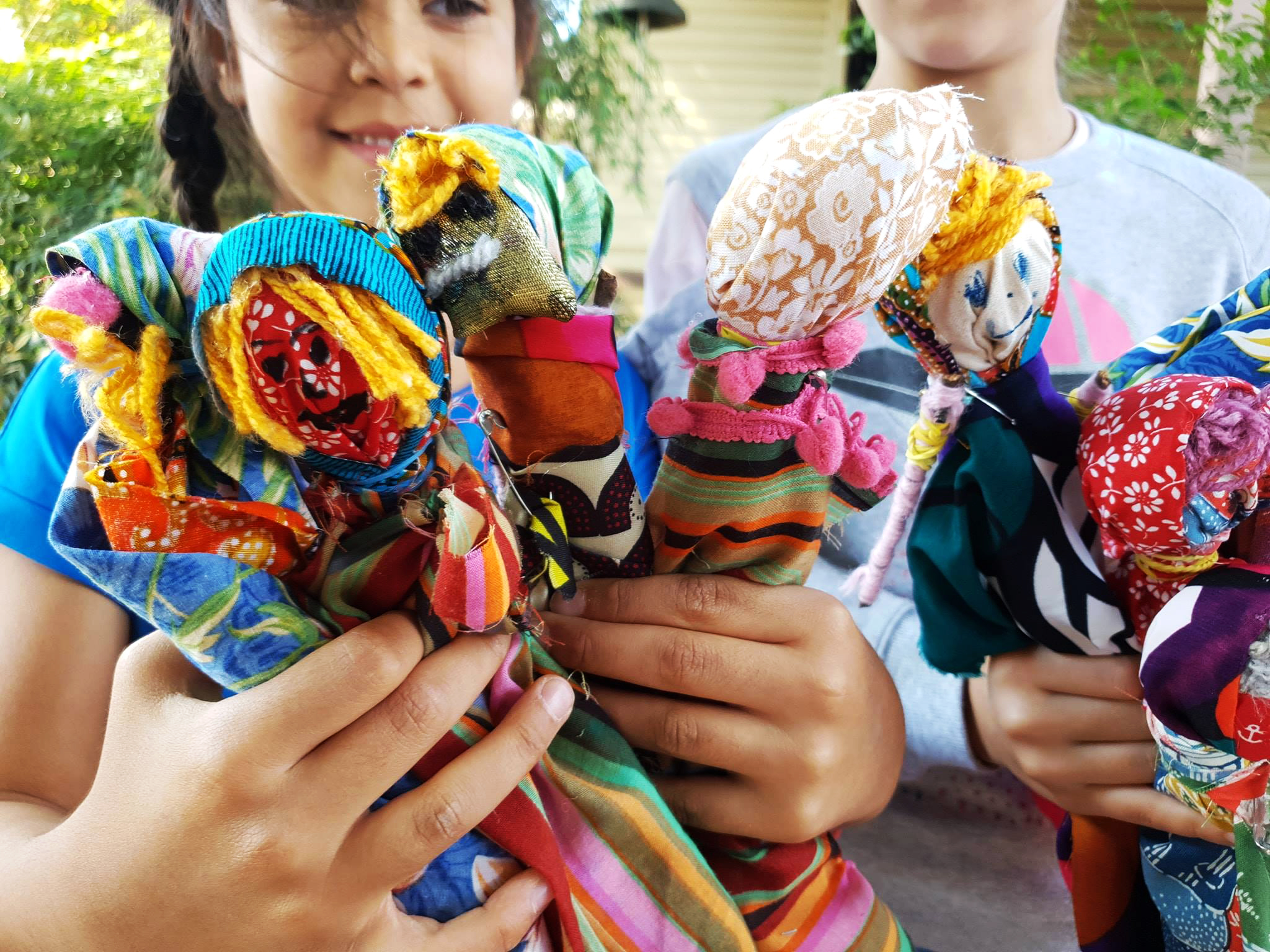 Kids Folk Doll workshop at Fairfield City Museum & Gallery