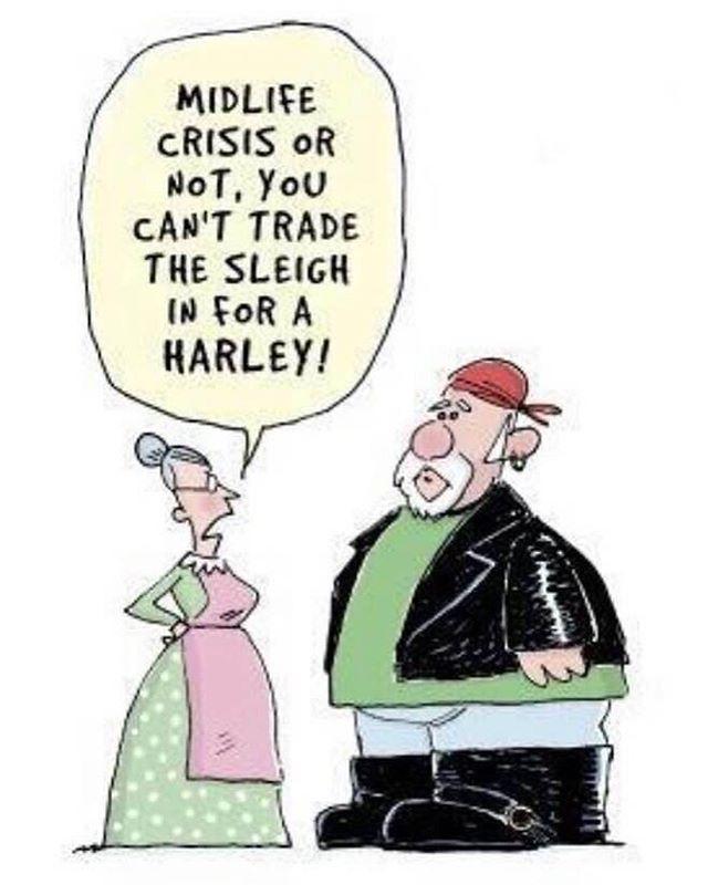 Everyone wants to be a biker. #biker #harley #santa #Christmas