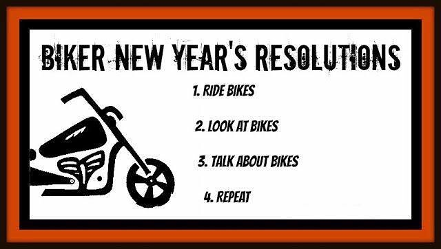 We found the perfect New Years Resolution for all of you #bikers