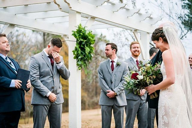 First looks are great...but reactions like this are even better. #stevenandlilyphotography #weddingphotographer, #richmondphotographers, #virginiaweddingphotographer, weddingphotography, #ido, #huffpostido, #photooftheday, #travelingweddingphotographer, #virginiabride, #virginiaisforlovers, #Rvabride, #richmondweddings, #rvaweddings, #virginiabride, #virginiaisforlovers, #engagementsrva, #rvaengaged, #hollyfieldmanor #hollyfieldmanorweddings, #momentjunkie, #momentsmatter @hollyfieldmanor @momentjunkie
