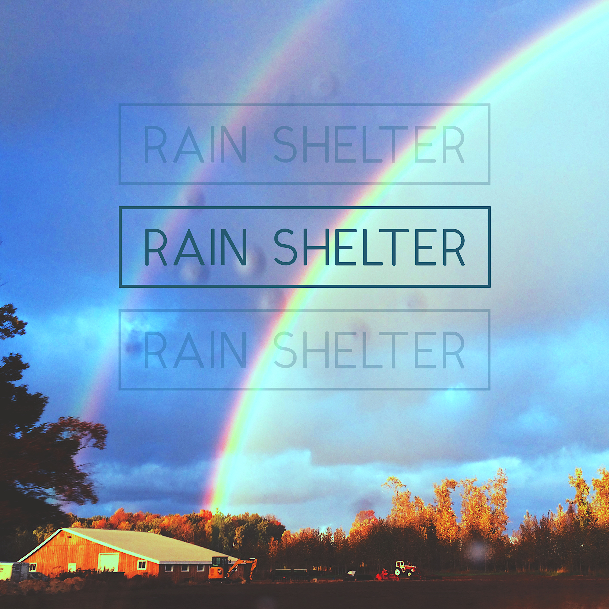 "Original image ""Rain Shelter"" taken by Ian Aisling"