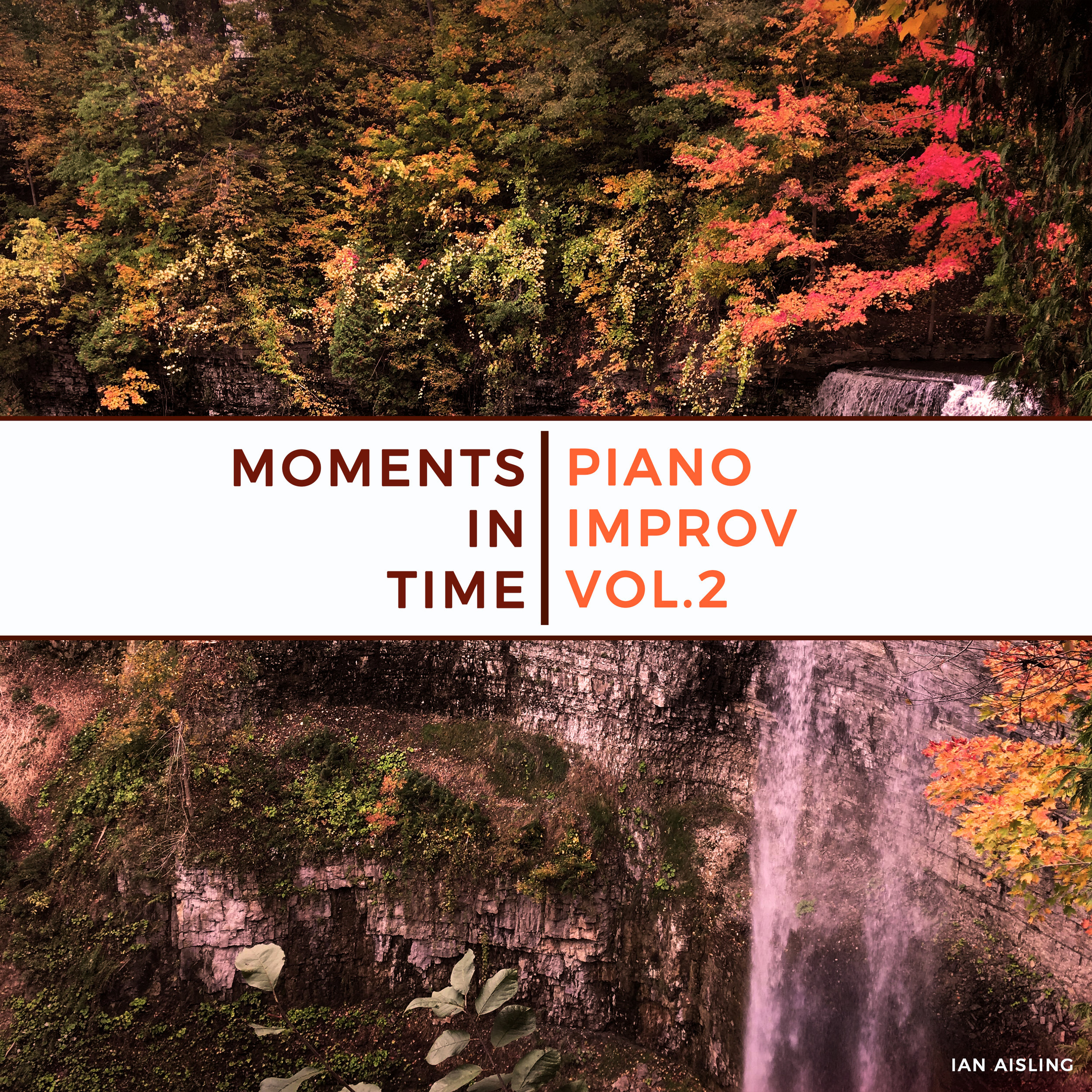 "Original artwork ""Moments in Time: Piano Improv Vol.2"" by Ian Aisling."
