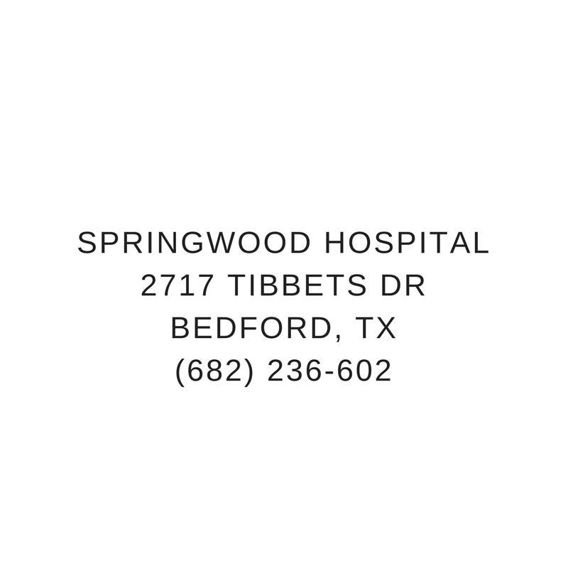 Springwood Hospital2717 Tibbets DrBedford, TX (682) 236-602.png