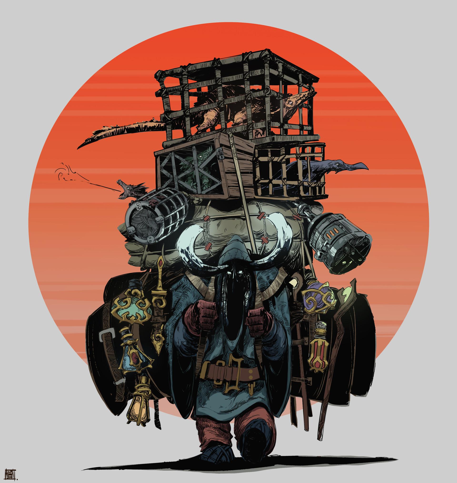 Art by:  Hue Teo