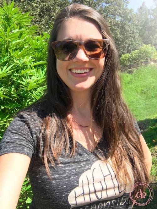 Jo's happy place selfie