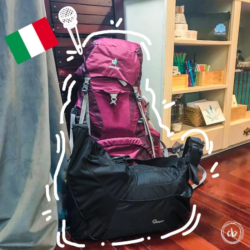 The CB mobile studio's first international trip