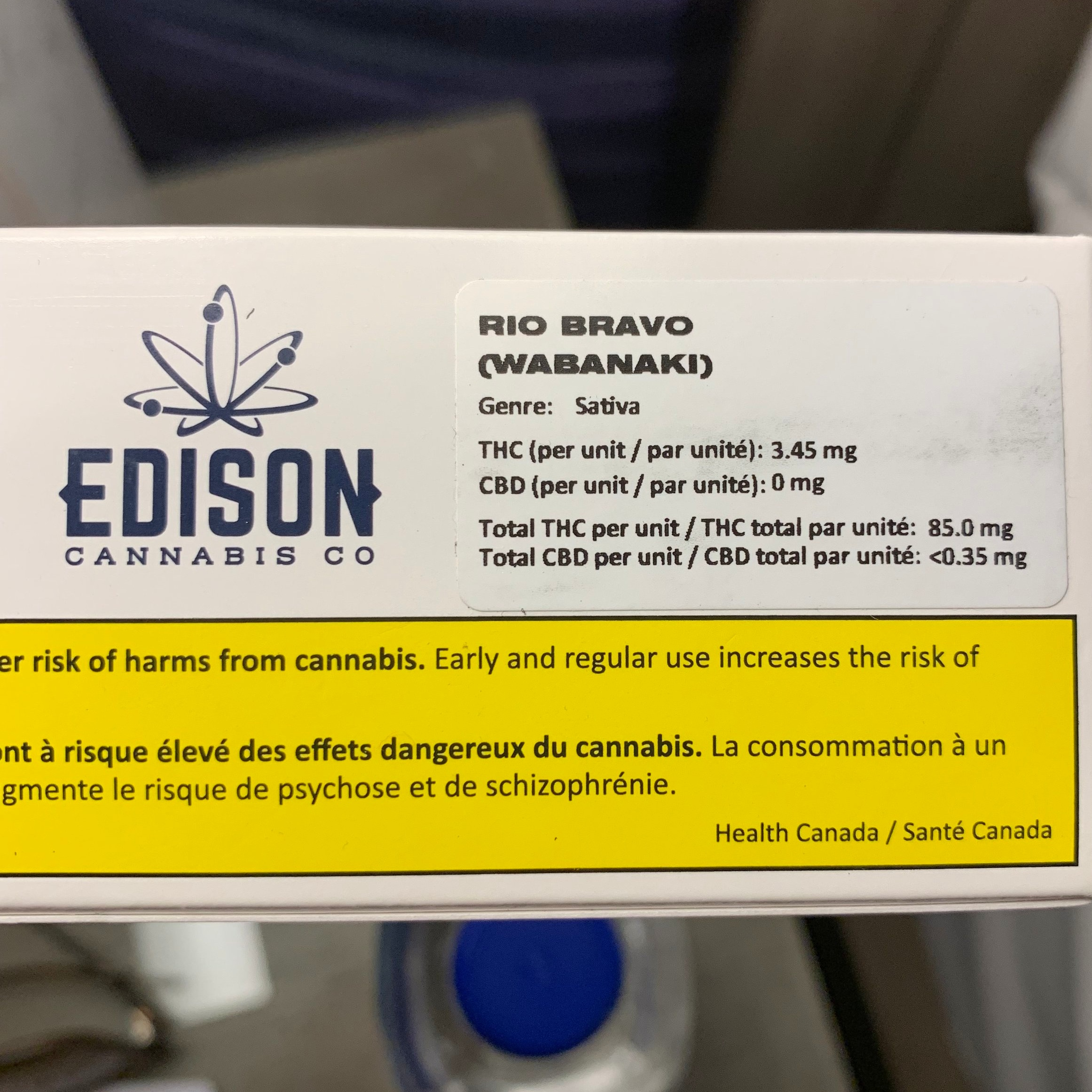This is a single pre-roll joint. The most valuable information I want as a consumer is not included - the % of THC in the flower. Do you understand how to read this label? Leave a comment below.