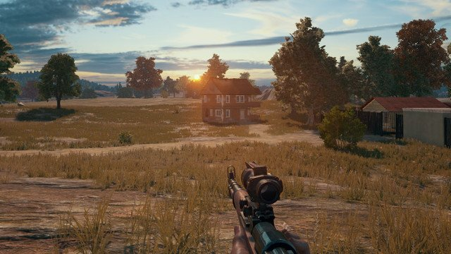 PUBG in the first person