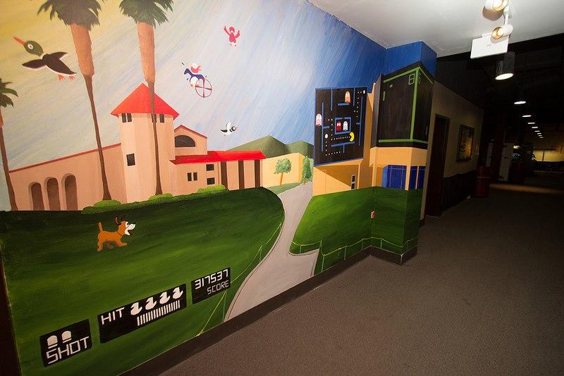 16 Bit Cal Poly Pomona Mural
