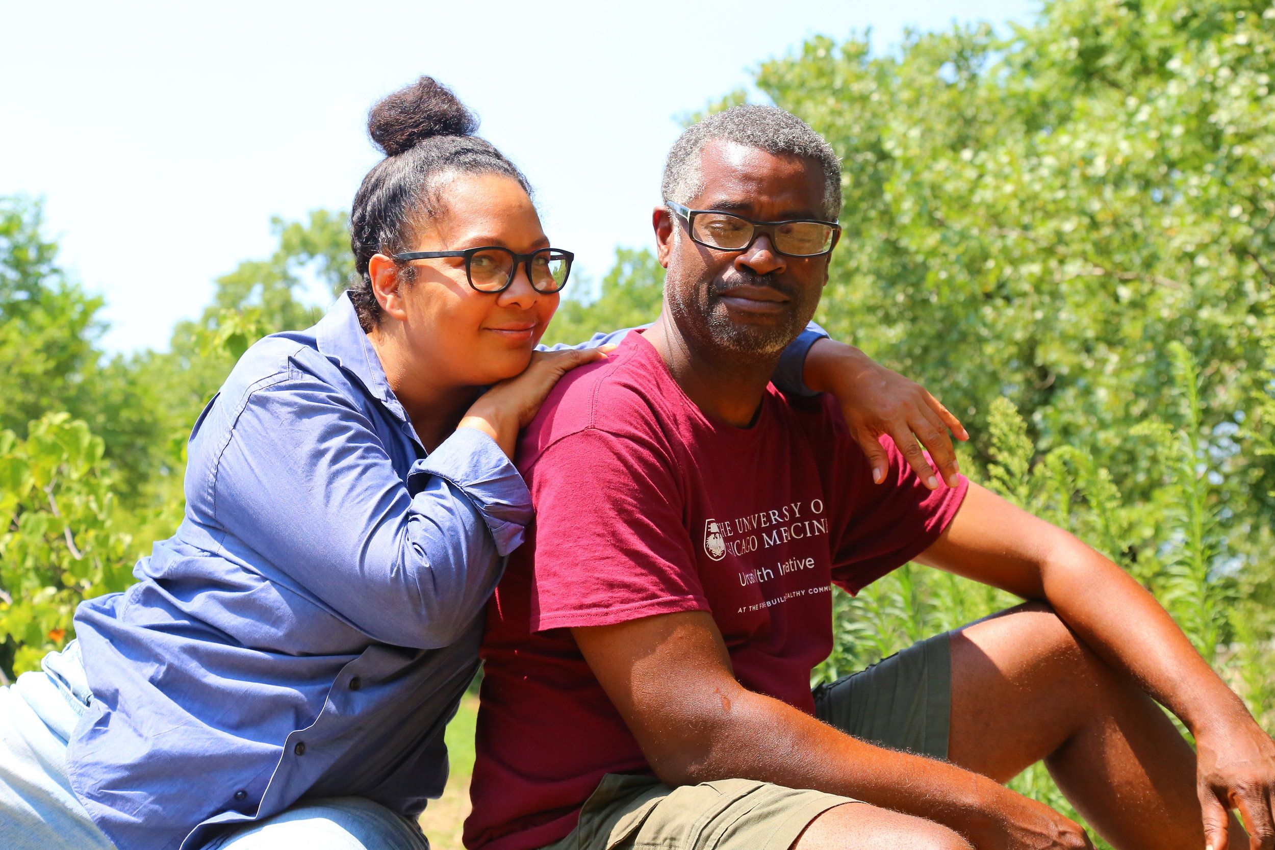 Kenya & Julian Sample, co-founders of DuSable City Ancestral Winery and Vineyards.