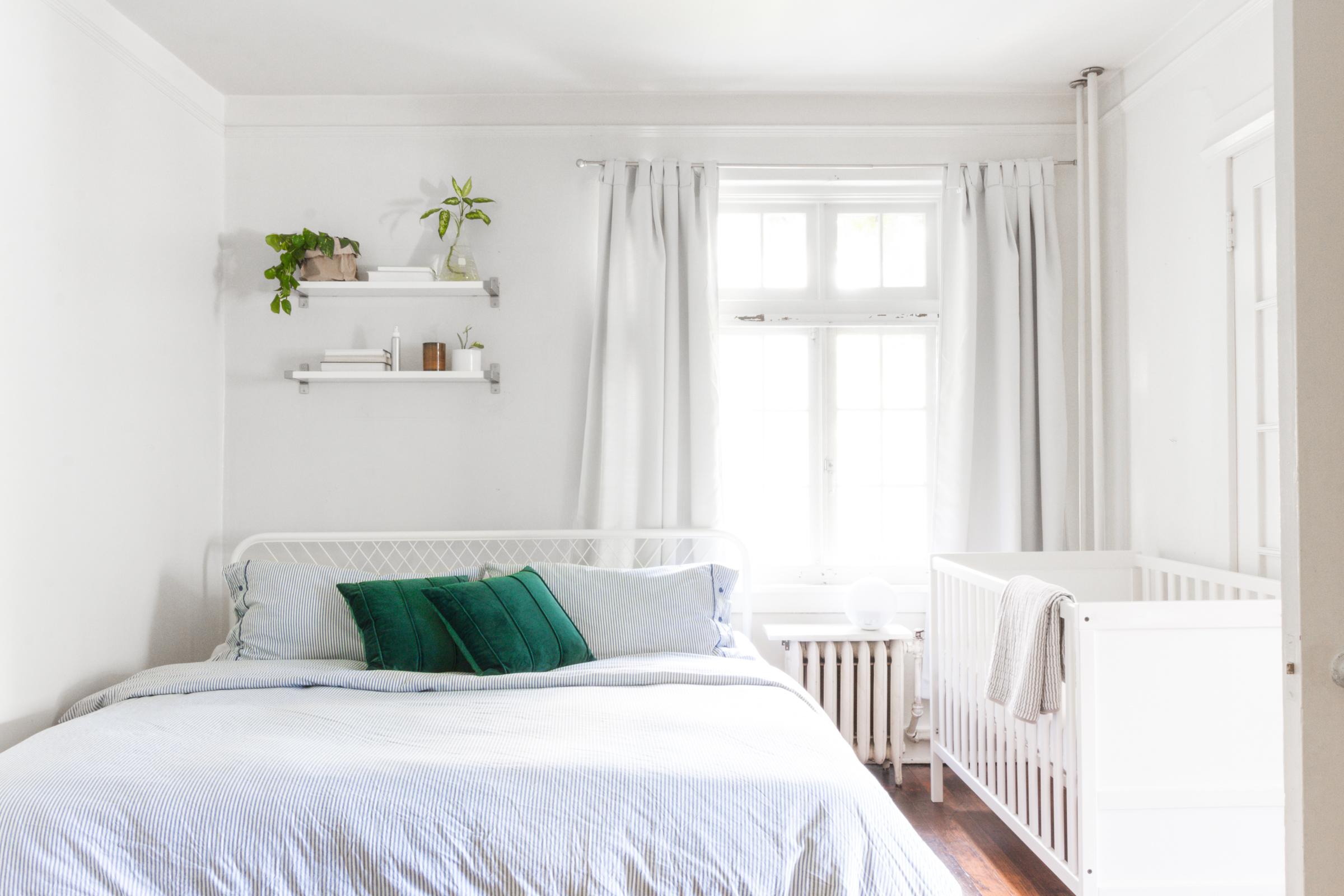 SHOP:  Curtains     Bed Frame