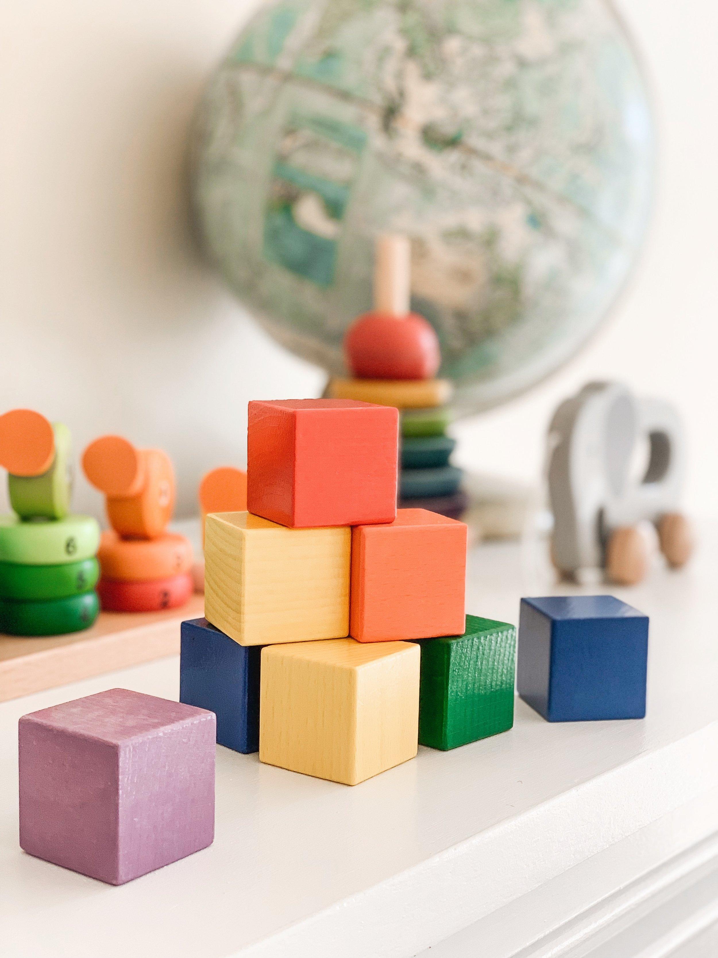 HABA Baby's First Basic Block Set