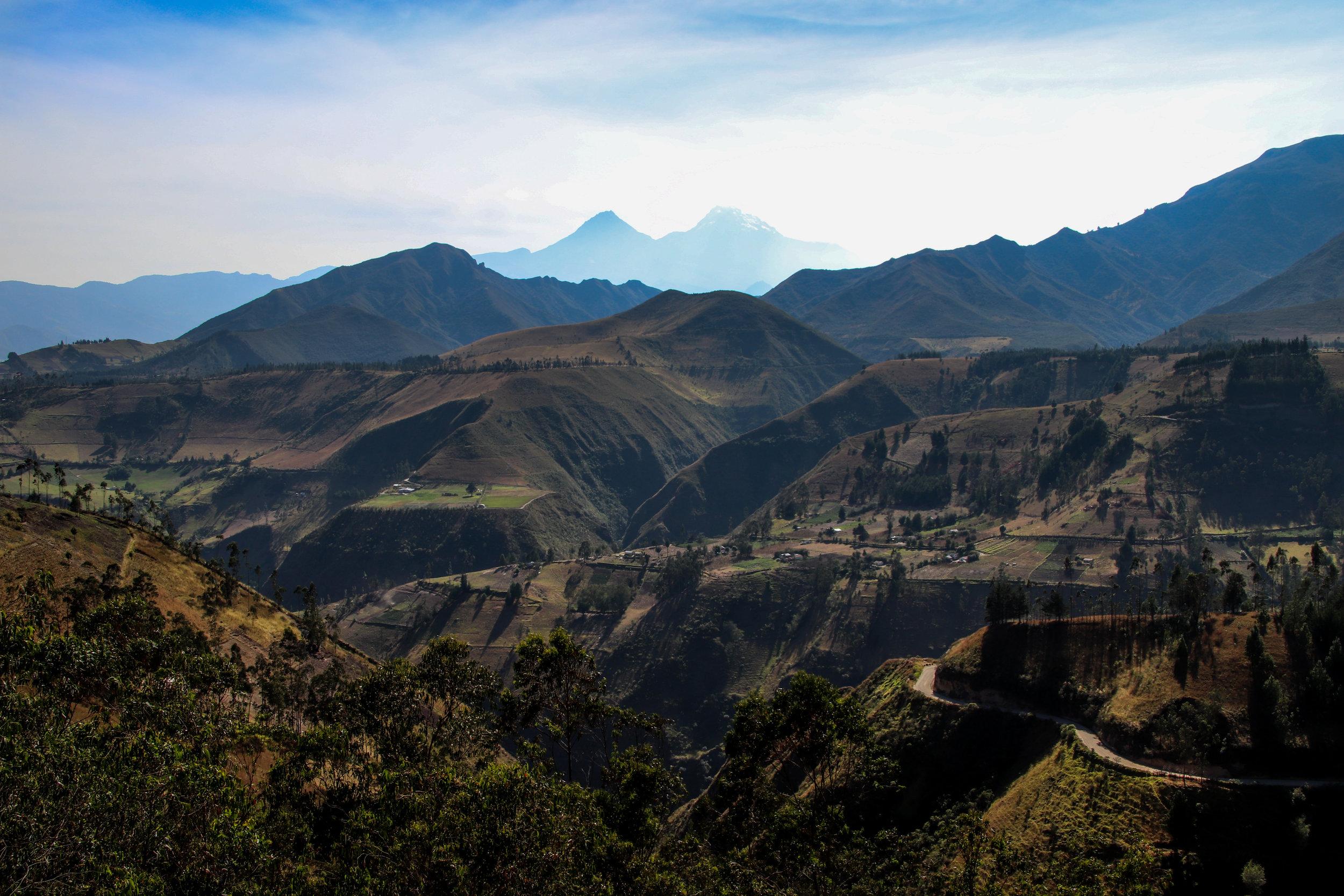 Mountains Quilotoa Loop, Ecuador