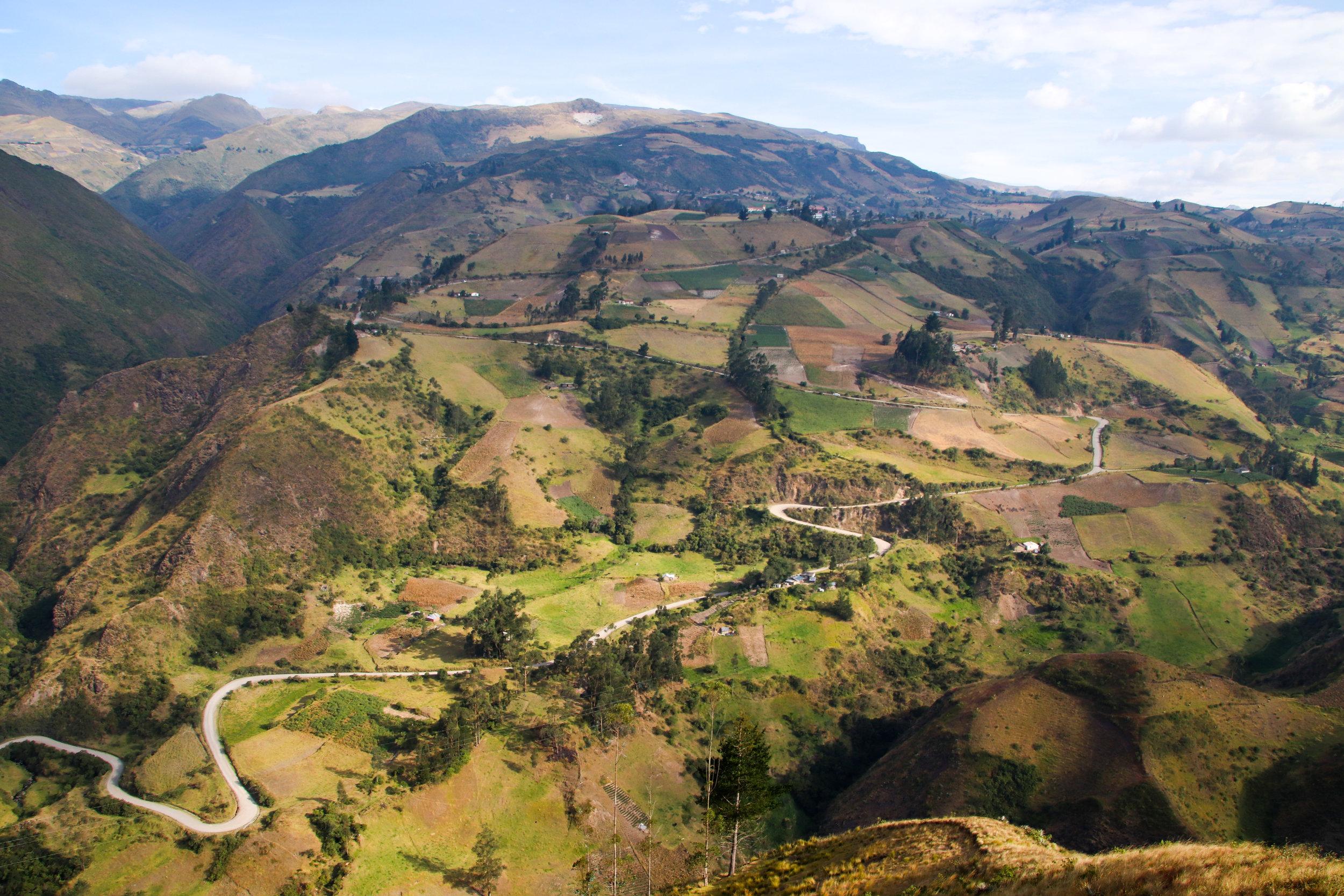 Quilotoa Loop, Ecuador, South America