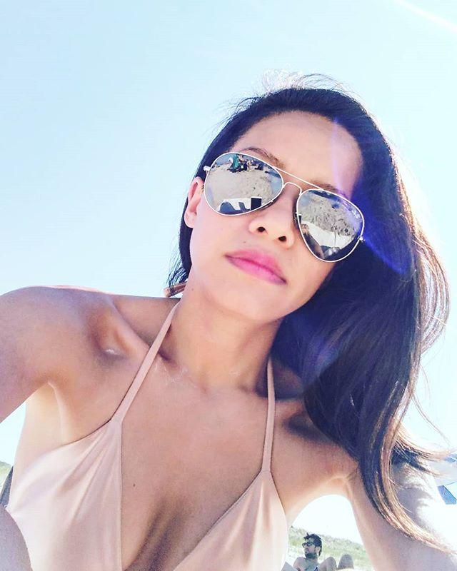 Shameless #selfie in the warm sun. Hope everyone is outside too.  In an original UYĒN bikini. It's fun to design something else for a change.  #Beachbabe #WeekendVibes ___________________________________________________       #SeaBreeze #ThatsTheLife #SummerDays #Idleness #SimplePleasures #Design #EmergingBrand #Lifestyle #Instastyle #Sun #Sea #Sand #Sustainable #EthicalFashion #NewYorker #Cosmopolitan #EmergingDesigner #GoodTimes #Stylegram #SimpleLife #Bikini #Bikinigirl #BeachBum #BeachVibes #Beachbody