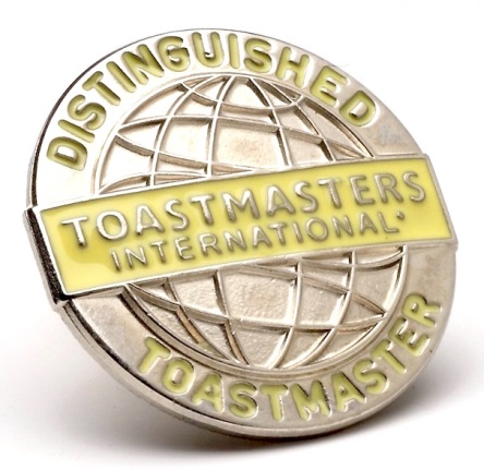 The Distinguished Toastmasters Award (DTM) was introduced in 1970.