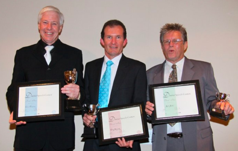 L-R: Colin Emerson, Greg Kennedy, Bill Stuth