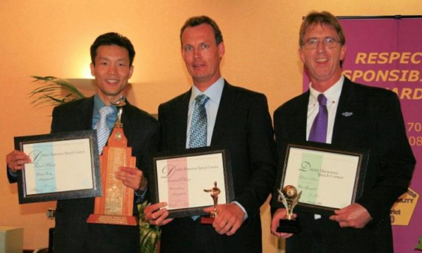 L-R: Wikrom Tang, Philip Devine, David Campbell