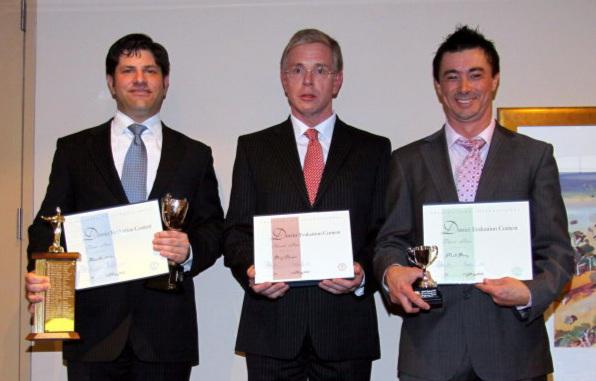 L-R: David Griffiths, Nigel Bryan, Matthew Pang