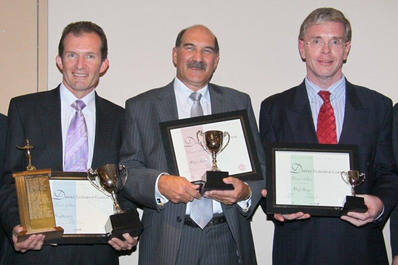 L-R: Greg Kennedy, Robert Bath, Nigel Bryan