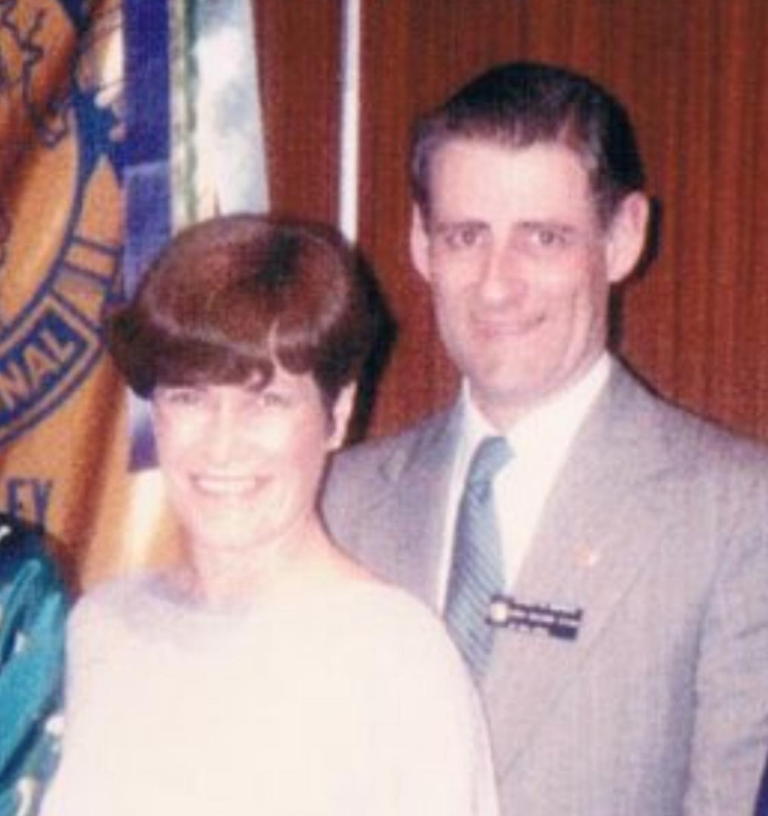 L-R: Elizabeth & Gary Wilson