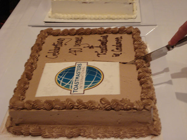 Woden Valley Toastmasters 40th Anniversary 2013 (Cake 2)
