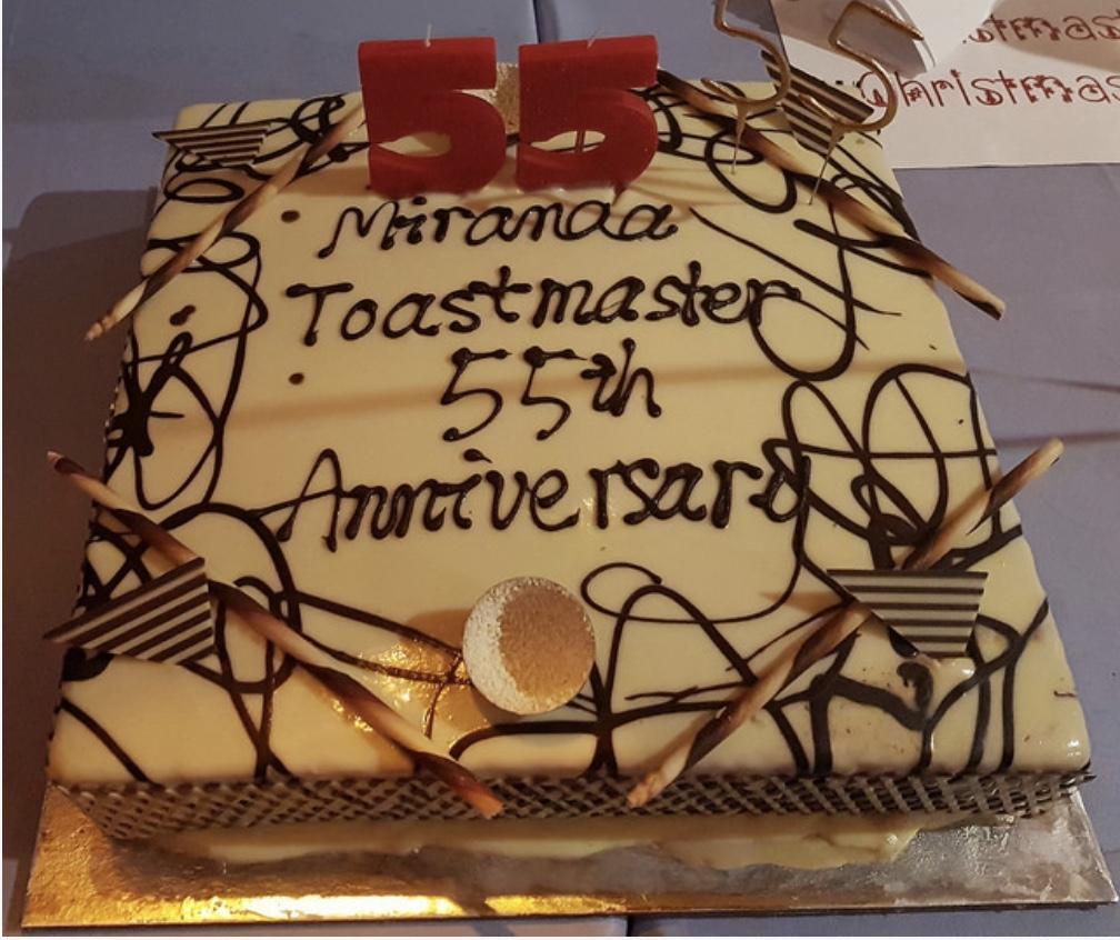 Miranda Toastmasters 55th Anniversary - 2017