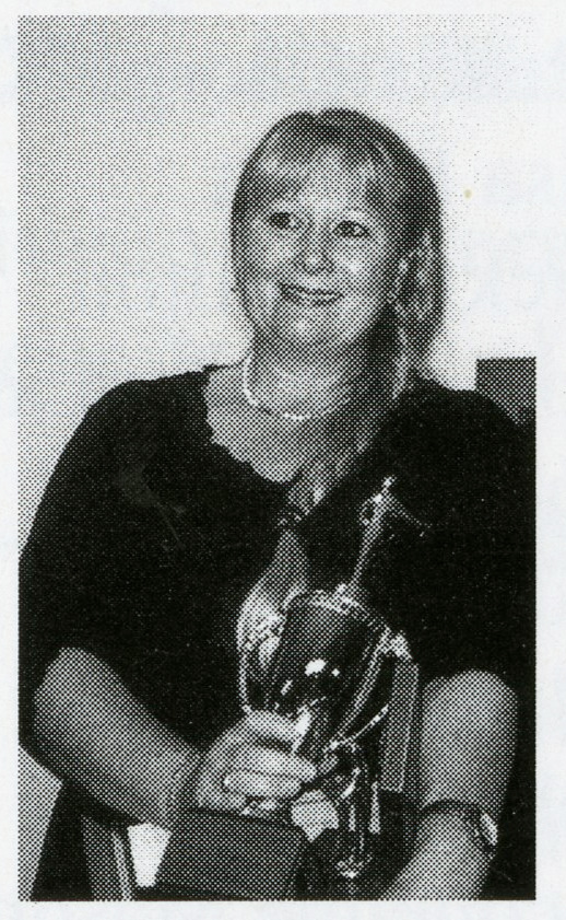 Jan Horsley with trophy