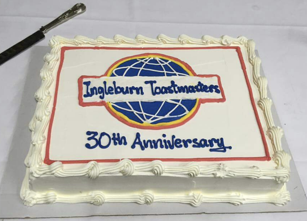 Ingleburn Toastmasters 30th Anniversary - April 2016
