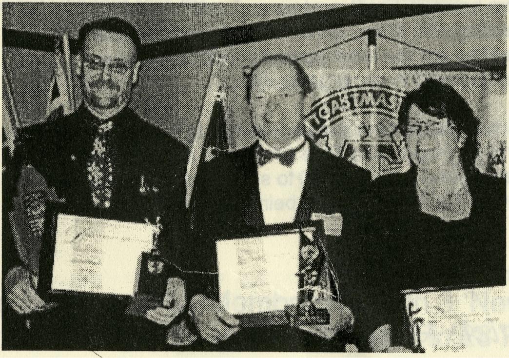 L-R: Michael Oxman, John Colebatch, Julie Fitzgerald
