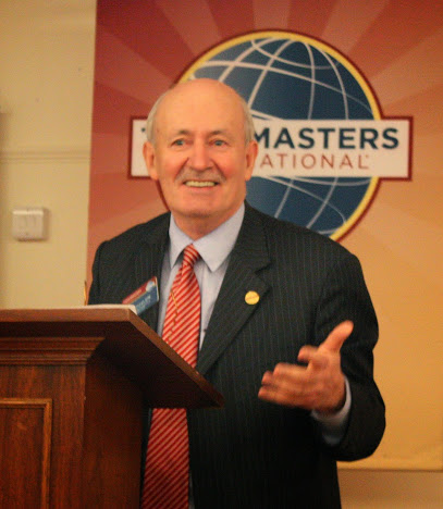 Immediate Past International President Ted Corcoran