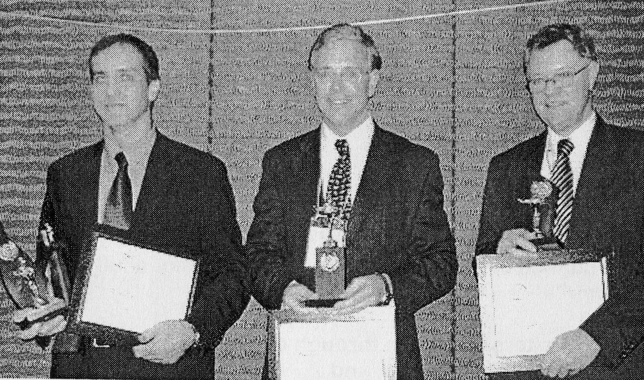 L-R: Demian Coorey, Nigel Bryan, Barry Wright
