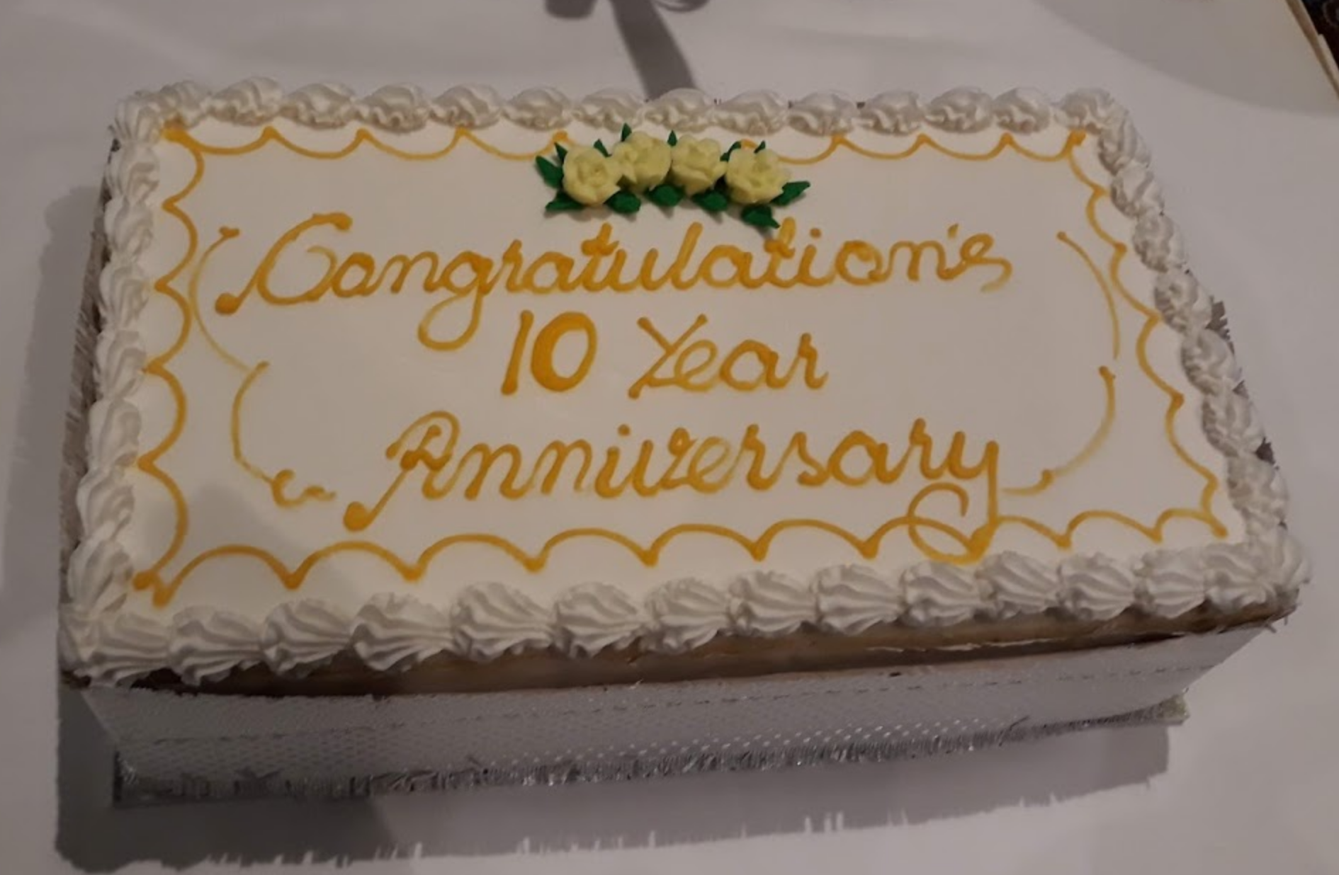 The Grange Toastmasters 10th Anniversary - September 2019