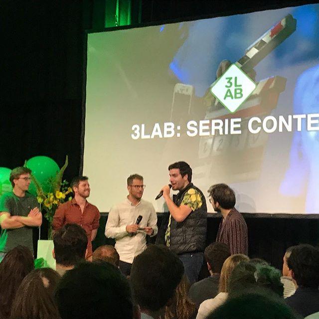 @npo3lab serie contest gewonnen! Op naar de pilot! 🎉
