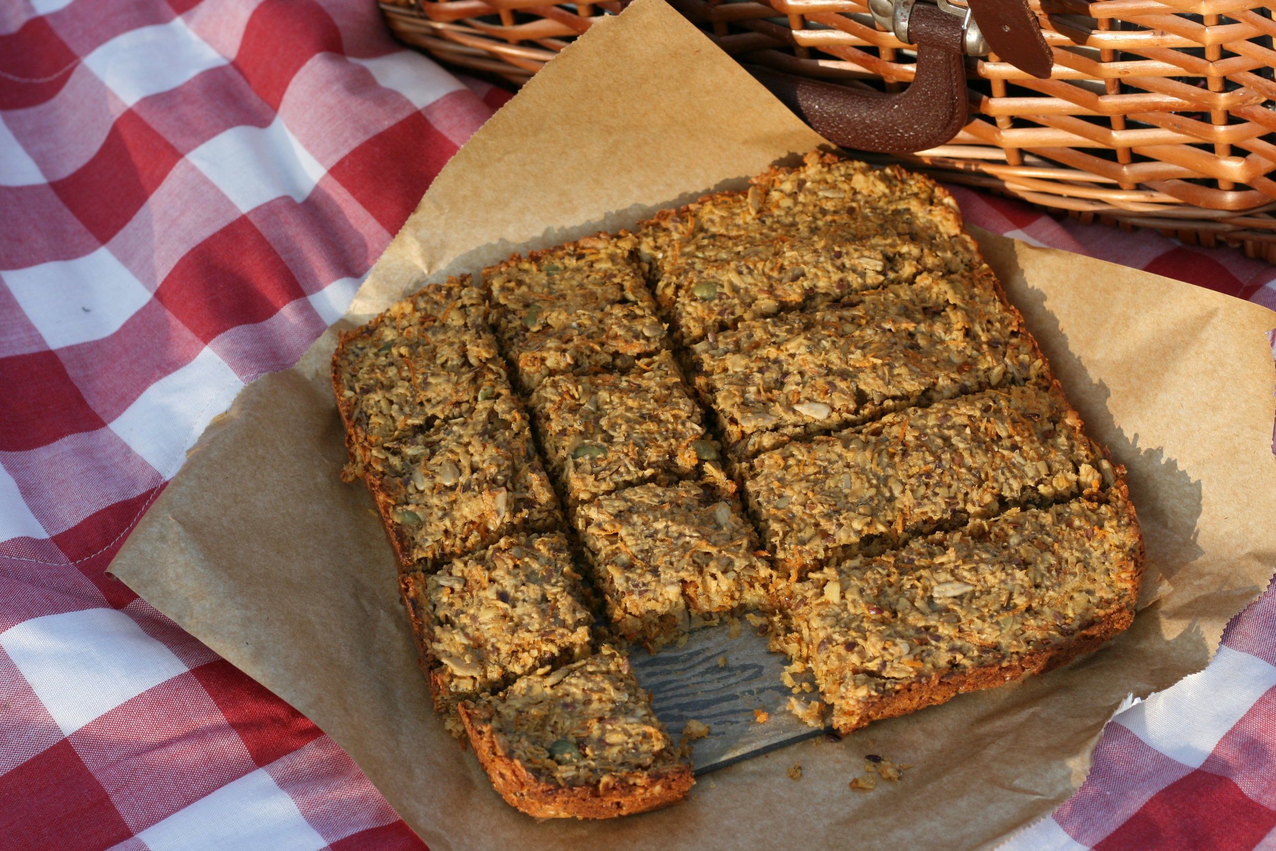 carrot apple ginger flapjack.JPG