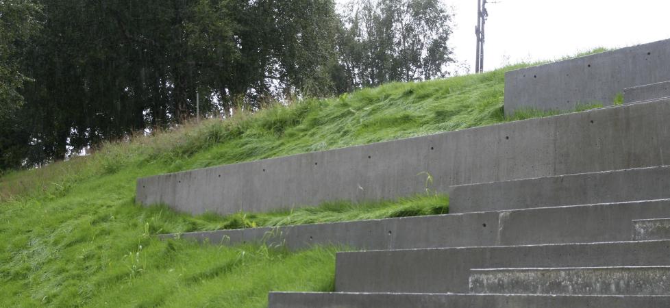Åfarnes Skole - trappeamfi