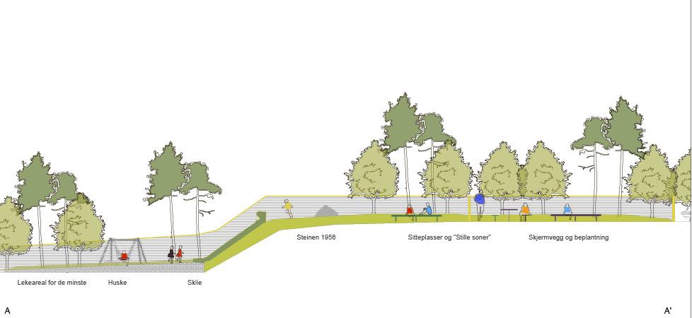 Isfjorden skole - plantegning