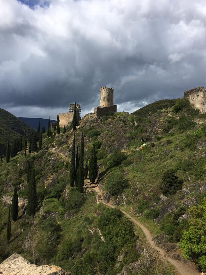 Lastours Cathar Castle