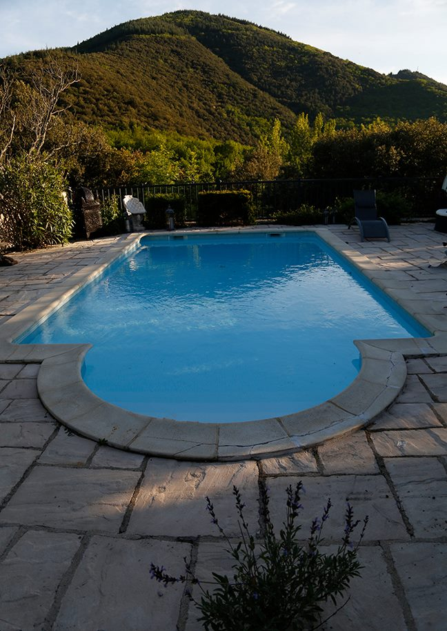 Heated Pool at Maison des Rêves