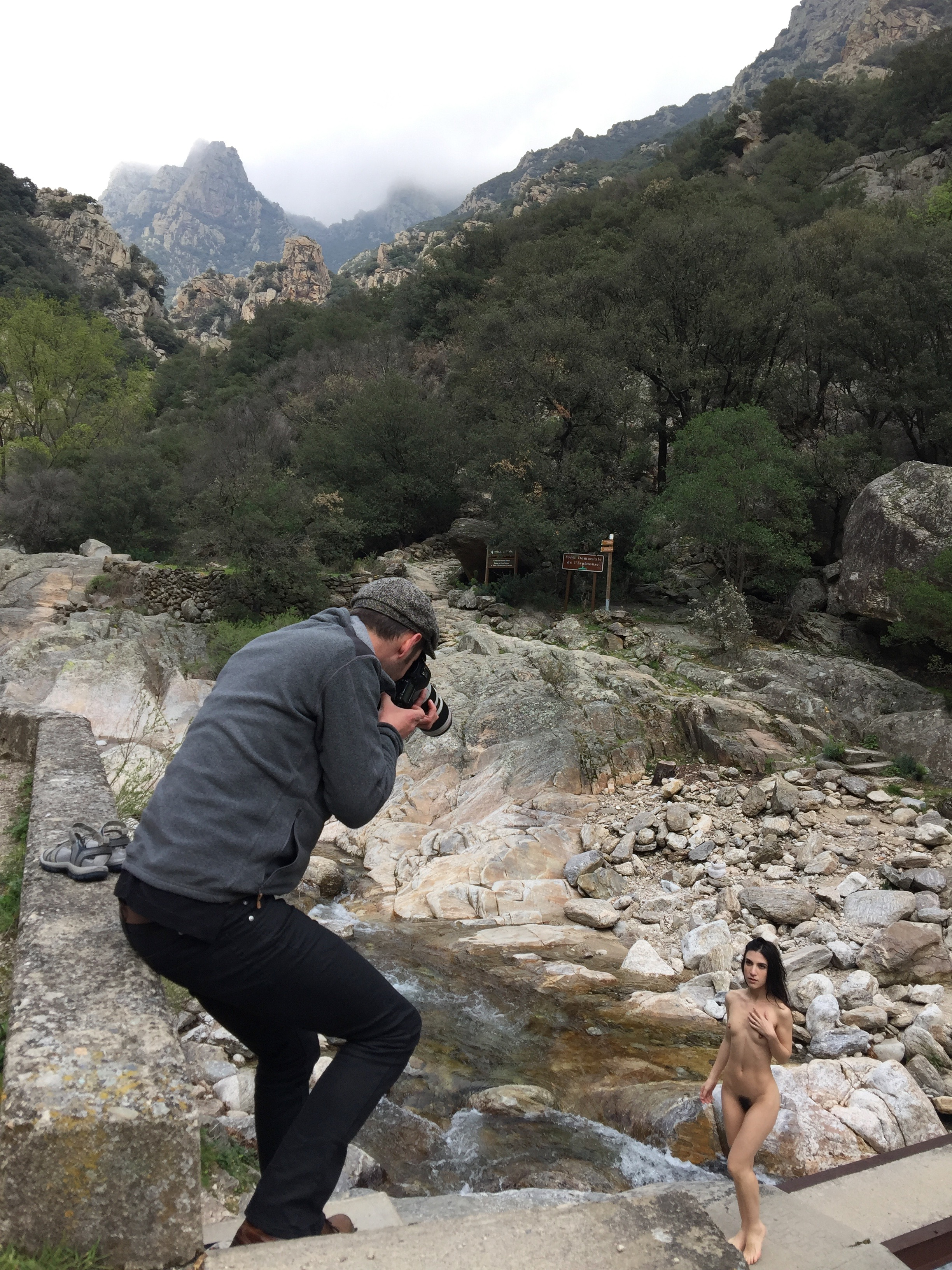 Gorges d'Heric Nudes Photo Workshop