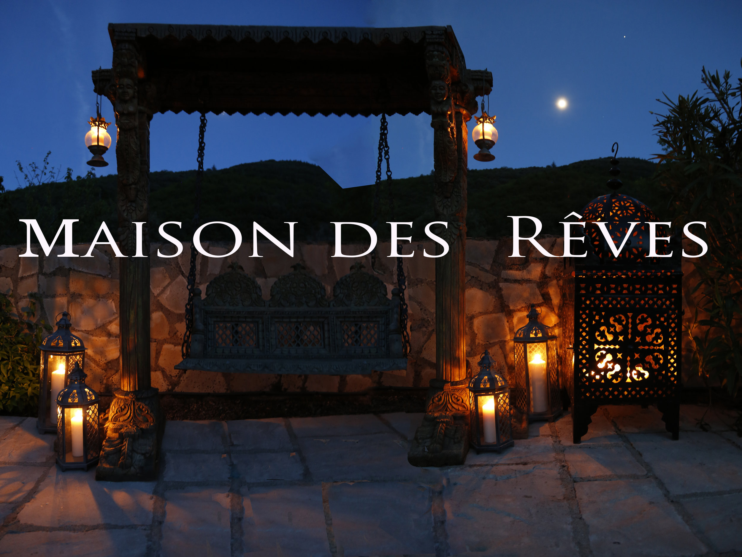 Welcome to Maison des Rêves! Enjoy a wonderful holiday in the South of France.