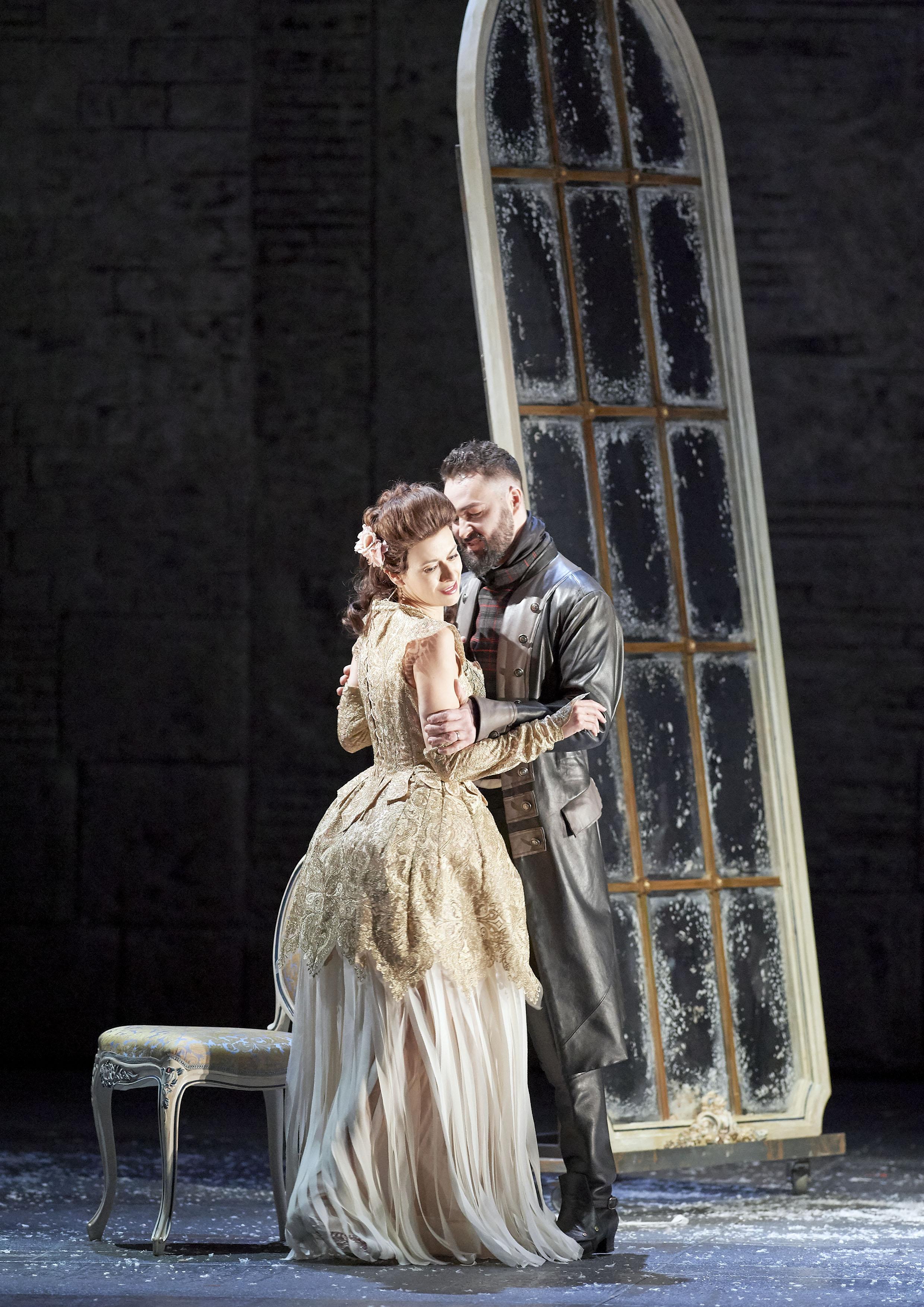 Chen Reiss as  Ginevra  in Ariodante © Wiener Staatsoper & Michael Pöhn