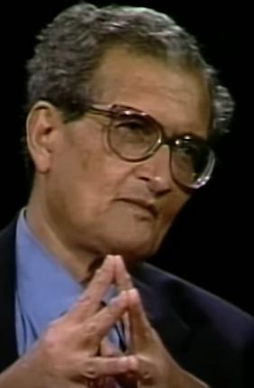 Nobel Prize winner, and Harvard Professor, Amartya Kumar Sen