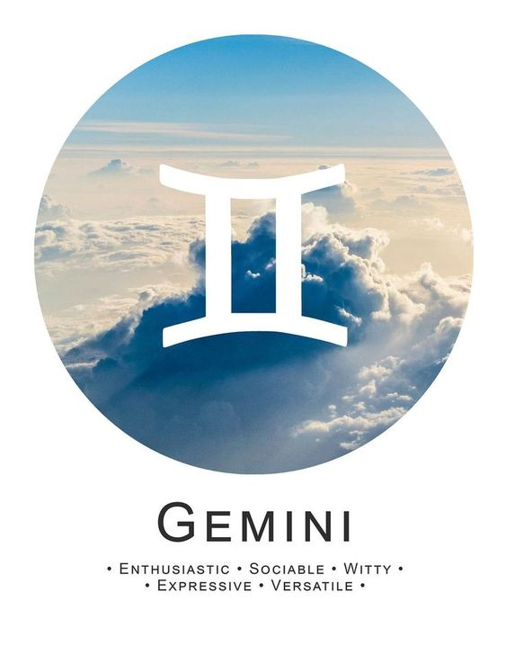 GEMINI THE TWINS! - Some people may say you think too much, but what they don't know is…