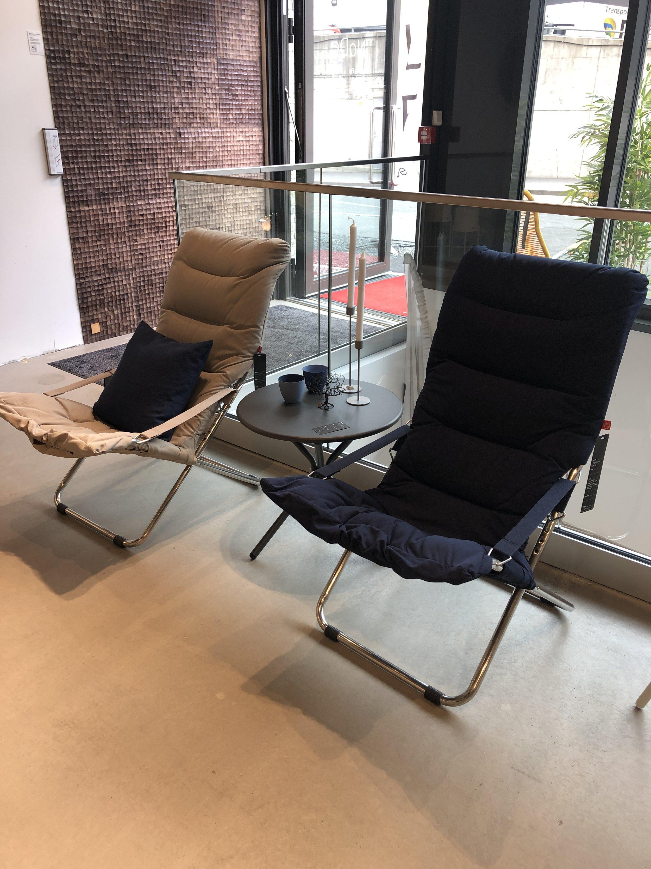 Fiesta soft stol og tris sidebord: -**% -