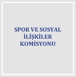 Spor ve Sosyal İlişkiler Komisyonu