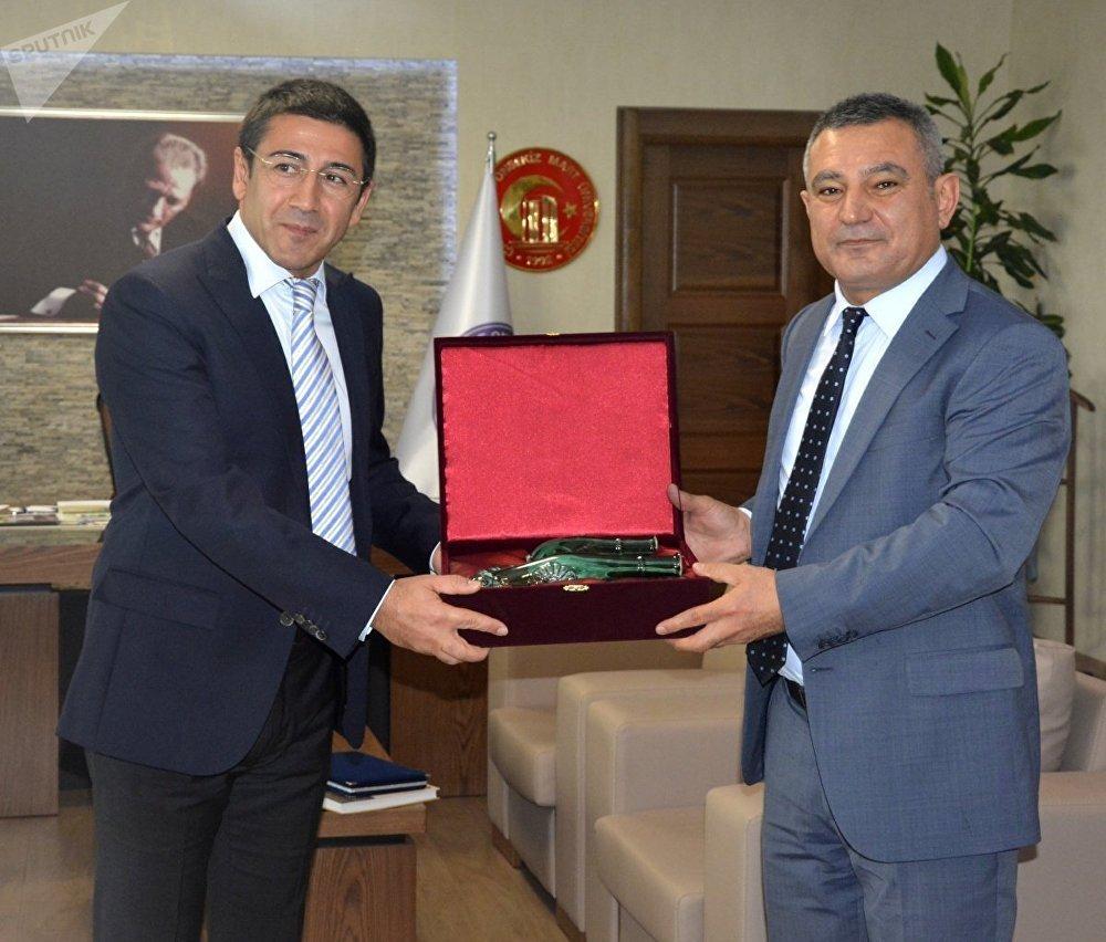 SPUTNIK NEWS :Natig Guliyev ve Prof. Dr. Yücel Acer